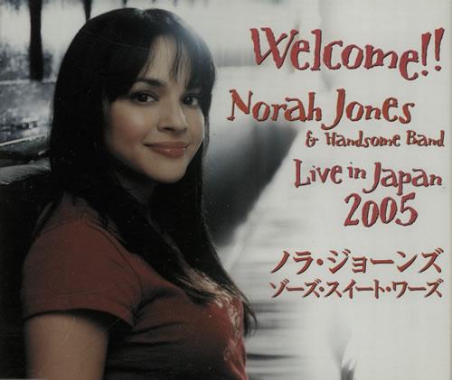Norah Jones Those Sweet Words Japanese Promo CD single (CD5 / 5