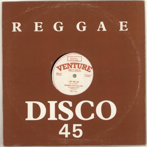 "Norman Star Collins Let Me Go 12"" vinyl single (12 inch record / Maxi-single) UK ZP812LE715945"