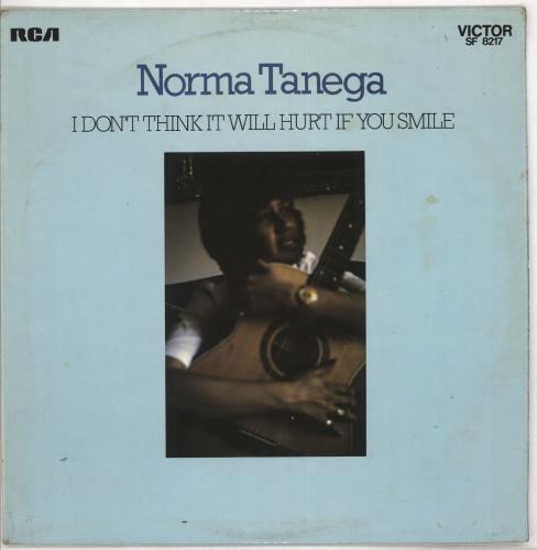 Norma Tanega I Don't Think It Will Hurt If You Smile - EX vinyl LP album (LP record) UK NRTLPID724115