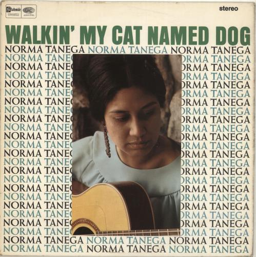 Norma Tanega Walkin' My Cat Named Dog vinyl LP album (LP record) UK NRTLPWA698664