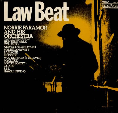 Norrie Paramor Law Beat vinyl LP album (LP record) UK NPALPLA553570