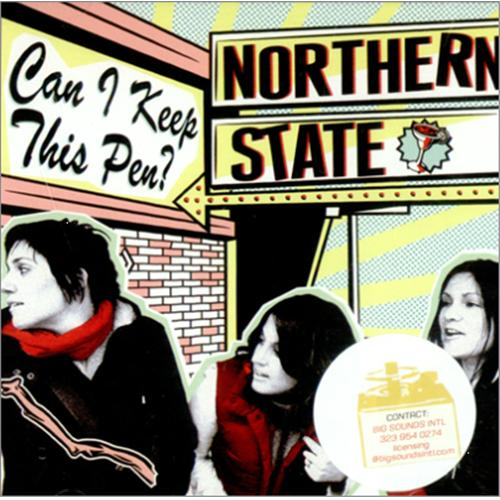 Northern State Can I Keep This Pen? CD album (CDLP) US NRSCDCA418056