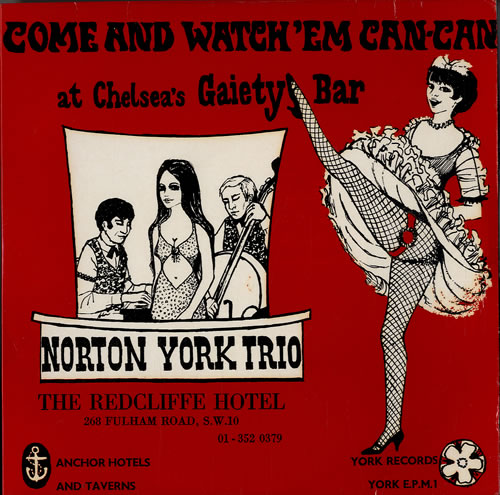 "Norton York Trio Come And Watch 'em Can-Can 7"" vinyl single (7 inch record) UK NPR07CO548750"