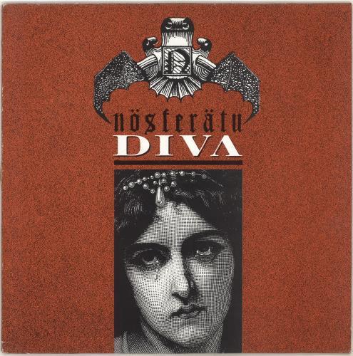 "NOSFERATU Diva + Grimoire fanzine 12"" vinyl single (12 inch record / Maxi-single) UK NA412DI704204"