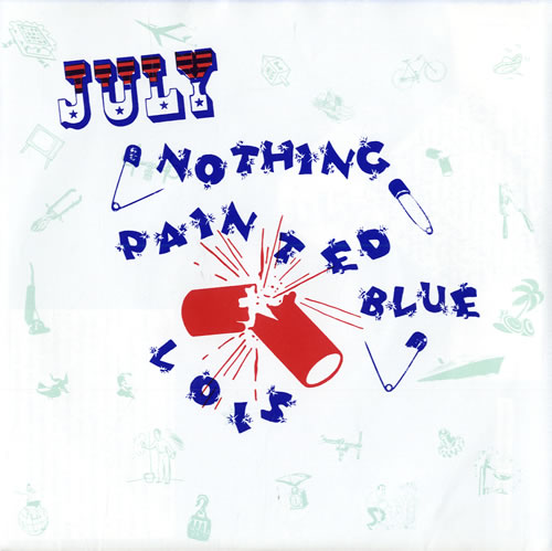 "Nothing Painted Blue Another Child Bride 7"" vinyl single (7 inch record) US NP507AN558496"