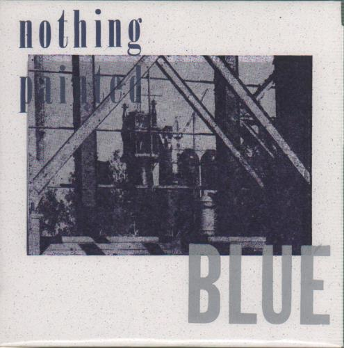 "Nothing Painted Blue Sorely Tempted 7"" vinyl single (7 inch record) US NP507SO649386"