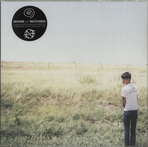 """Nothing Whirr / Nothing - Baby Blue Vinyl 12"""" vinyl single (12 inch record / Maxi-single) US O6T12WH681689"""