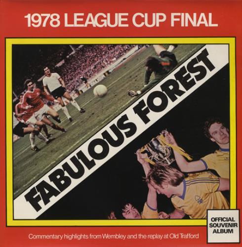 Nottingham Forest FC Fabulous Forest vinyl LP album (LP record) UK NFFLPFA374676