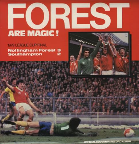 Nottingham Forest FC Forest Are Magic! vinyl LP album (LP record) UK NFFLPFO374684