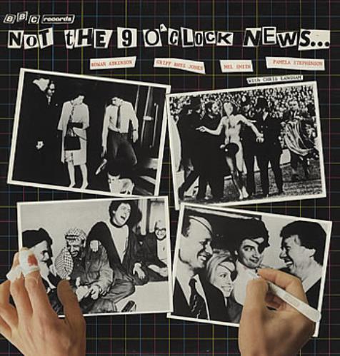 Not The Nine O'Clock News Not The 9 O'Clock News... vinyl LP album (LP record) UK N.NLPNO306685