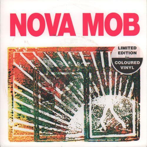 "Nova Mob Shoot Your Way To Freedom - Lilac Vinyl 7"" vinyl single (7 inch record) German MOB07SH649411"