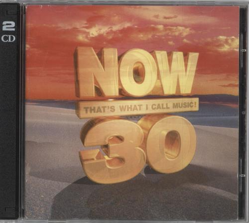 Now That's What I Call Music Now 30 - UK 2 CD album set (Double CD) UK N.W2CNO723319