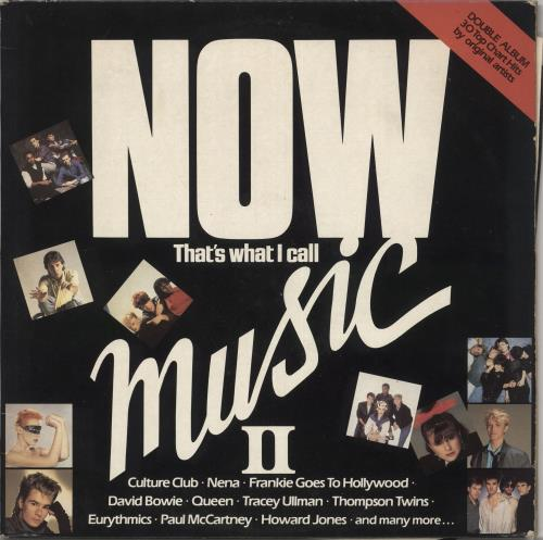 Now That's What I Call Music Now That's What I Call Music 2 - EX 2-LP vinyl record set (Double Album) UK N.W2LNO245922