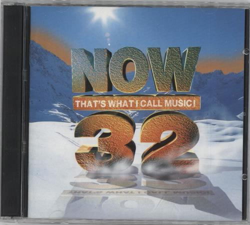 Now That's What I Call Music Now That's What I Call Music 32 2 CD album set (Double CD) UK N.W2CNO723322