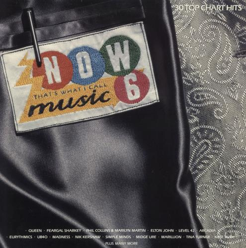Now That's What I Call Music Now That's What I Call Music 6 2-LP vinyl record set (Double Album) UK N.W2LNO240623