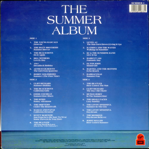 Now That S What I Call Music The Summer Album Uk 2 Lp