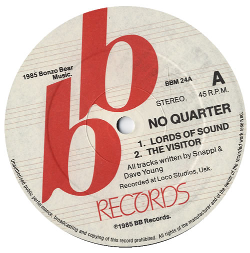 No Quarter Birds Of Prey Uk 12 Vinyl Single 12 Inch Record Maxi Single 558716