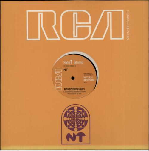 "NT Responsibilities 12"" vinyl single (12 inch record / Maxi-single) UK NZA12RE606483"