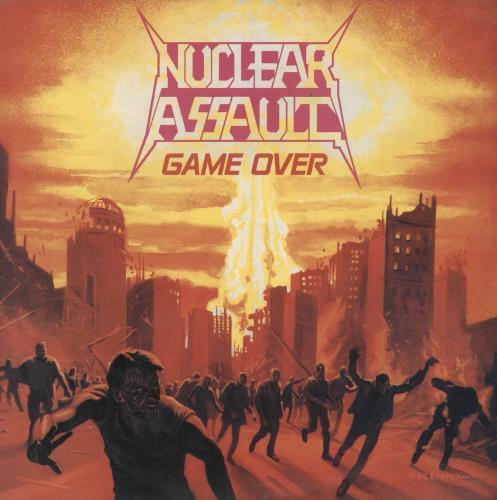 Nuclear Assault Game Over vinyl LP album (LP record) UK NUCLPGA391822