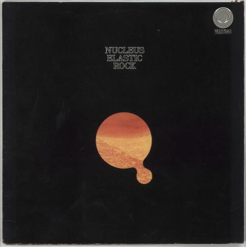 Nucleus Elastic Rock - 1st vinyl LP album (LP record) UK NCULPEL559998