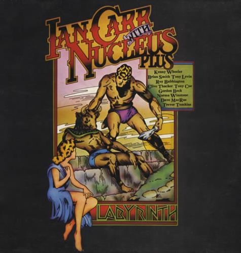Nucleus Labyrinth vinyl LP album (LP record) Italian NCULPLA399362