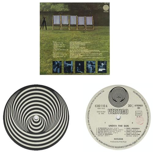 Nucleus Under The Sun vinyl LP album (LP record) Italian NCULPUN399369