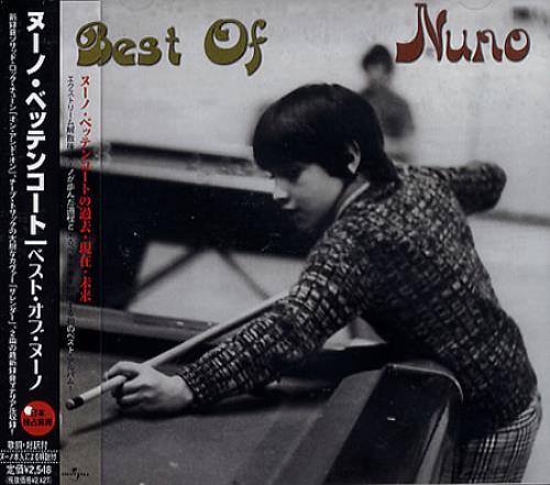 Nuno Bettencourt Best Of Nuno CD album (CDLP) Japanese NNOCDBE365120