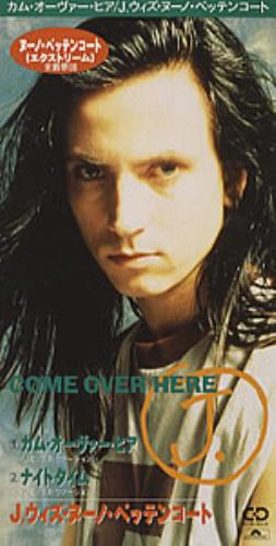 """Nuno Bettencourt Come Over Here (Remix Version) 3"""" CD single (CD3) Japanese NNOC3CO271678"""