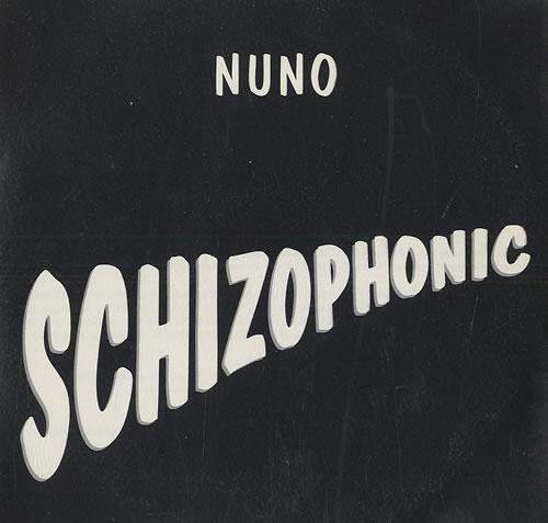 Nuno Bettencourt Schizophonic CD album (CDLP) US NNOCDSC485139