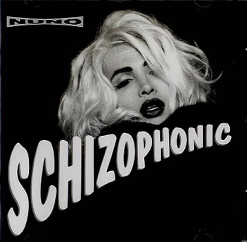 Nuno Bettencourt Schizophonic CD album (CDLP) UK NNOCDSC589527