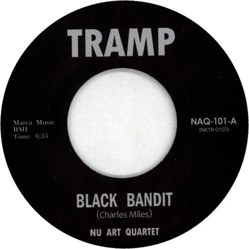 """Nu Art Quartet Black Bandit 7"""" vinyl single (7 inch record) UK QWC07BL702913"""
