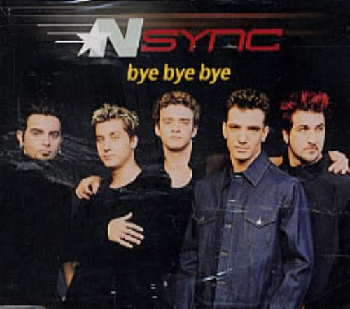 "N Sync Bye Bye Bye CD single (CD5 / 5"") Singapore NSYC5BY181250"