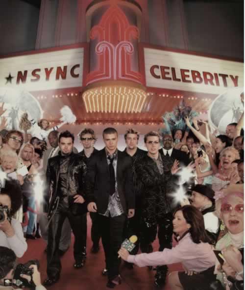 N Sync Celebration poster UK NSYPOCE610375