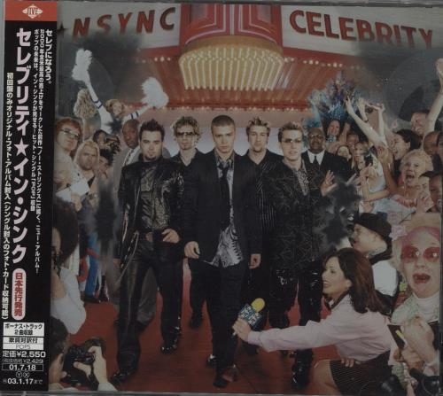N Sync Celebrity + Photo Album CD album (CDLP) Japanese NSYCDCE668331
