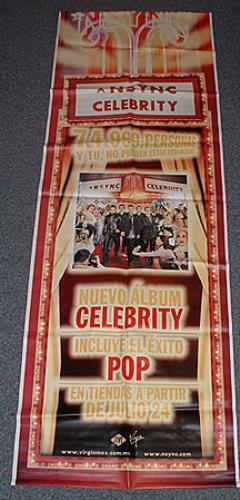 N Sync Celebrity display Mexican NSYDICE242157