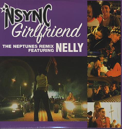 "N Sync Girlfriend 12"" vinyl single (12 inch record / Maxi-single) US NSY12GI387437"