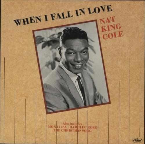 Nat King Cole When I Fall In Love UK 12 Vinyl Single 12