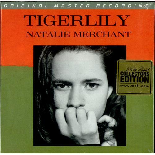 Natalie Merchant Tigerlily CD album (CDLP) US NATCDTI418284