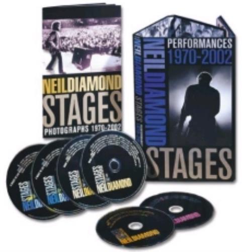 Neil Diamond Stages Uk Box Set 257896