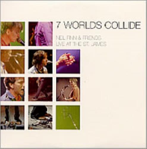 Neil Finn 7 Worlds Collide - Live At The St James CD album (CDLP) UK NFNCDWO201724