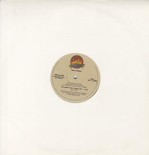 """New Order The Perfect Kiss 12"""" vinyl single (12 inch record / Maxi-single) US NEW12TH22915"""