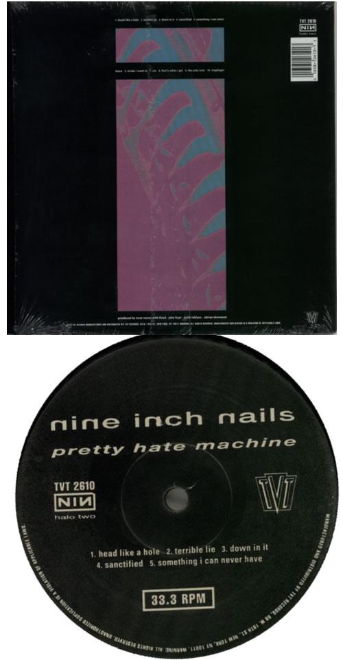 nine inch nails pretty machine vinyl
