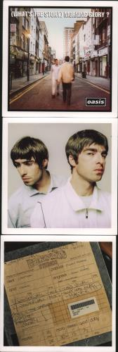 Oasis (UK) (What's The Story) Morning Glory? 3-CD album set (Triple CD) UK OAS3CWH634633