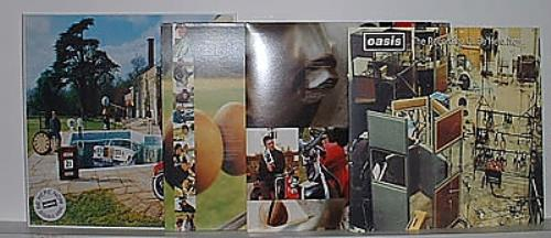 Oasis (uk) limited edition collectors box set uk vinyl box set.