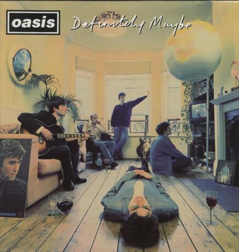 Oasis (UK) Definitely Maybe 2-LP vinyl record set (Double Album) UK OAS2LDE99833