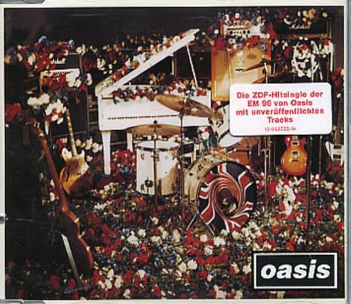"Oasis (UK) Don't Look Back In Anger CD single (CD5 / 5"") German OASC5DO287500"