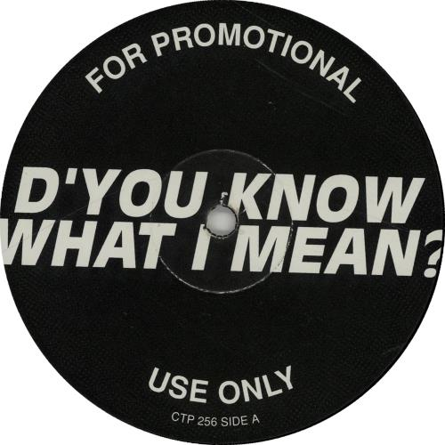 """Oasis (UK) D'you Know What I Mean 12"""" vinyl single (12 inch record / Maxi-single) UK OAS12DY97317"""