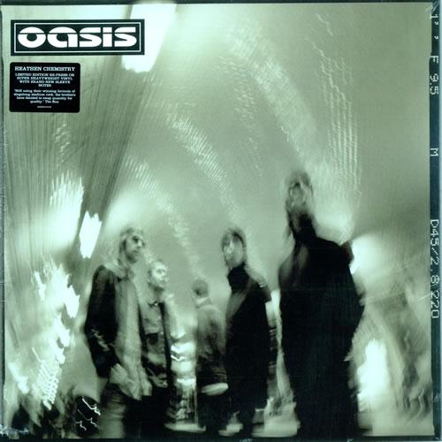 Oasis (UK) Heathen Chemistry [2009 Edition] 2-LP vinyl record set (Double Album) UK OAS2LHE474969