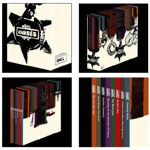 Oasis limited edition collectors lp vinyl box set numbered 0438.