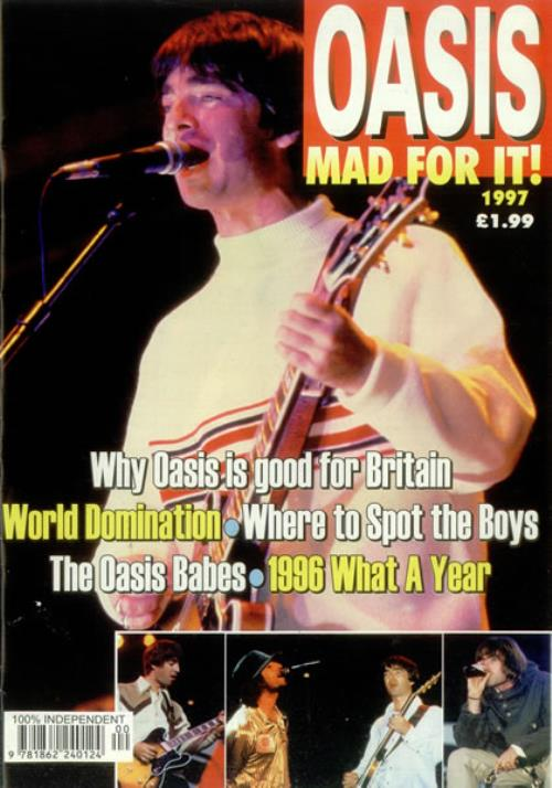 Oasis (UK) Mad For It magazine UK OASMAMA447233